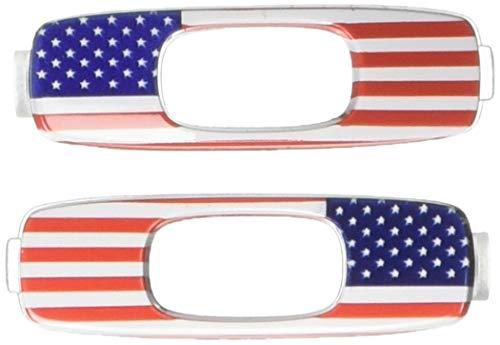 Oakley Icon USA Bandera Adulto Batwolf Sunglass Accesorios - Rojo/Blanco/Azul/Talla Única