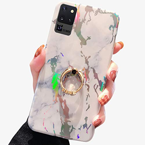Read About Case for Samsung Galaxy S20 Ultra 6.9 Inch,Aulzaju S20 Ultra Gold Sparkle Marble Cover S2...