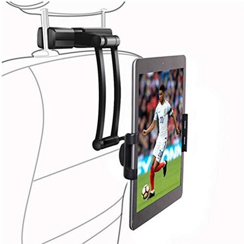 Aerfa - Soporte universal para tablet de coche, para reposacabezas de coche, rotación de 360°, tamaño ajustable de 6 a 11 pulgadas, para iPad 2/3/4, Mini/Air/Samsung Galaxy Tab