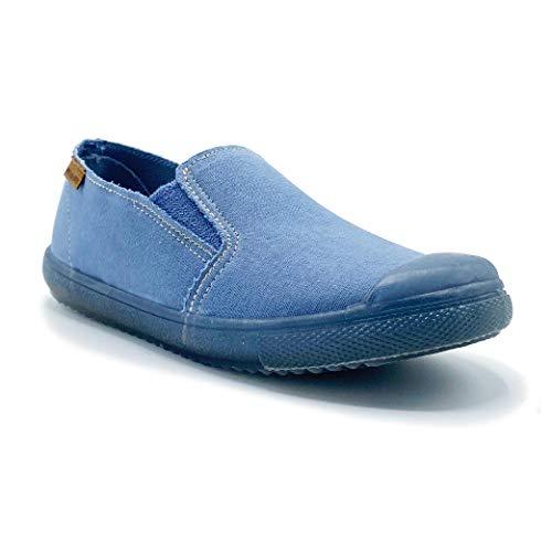 Zapatillas de Lona ecológica para niña y niño/Bambas Infantiles con aromaterapia antimosquitos/Calzado...