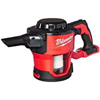 Milwaukee M18 18V Cordless Lithium-Ion Compact Vacuum (Tool Only)