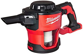 MILWAUKEE S 0882-20 M18 Lithium Ion Cordless Compact 40 CFM Hand Held Vacuum w/ Hose Attachments and Accessories  Batteries Not Included Power Tool Only