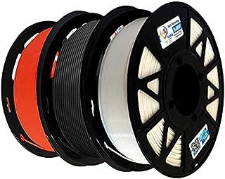 3Idea Premium PLA 1.75mm 3D Printer Filament Combo Bundle | Dimensional Accuracy +/- 0.03mm (3KG Total, 1KG/Spool) | 3 Col...