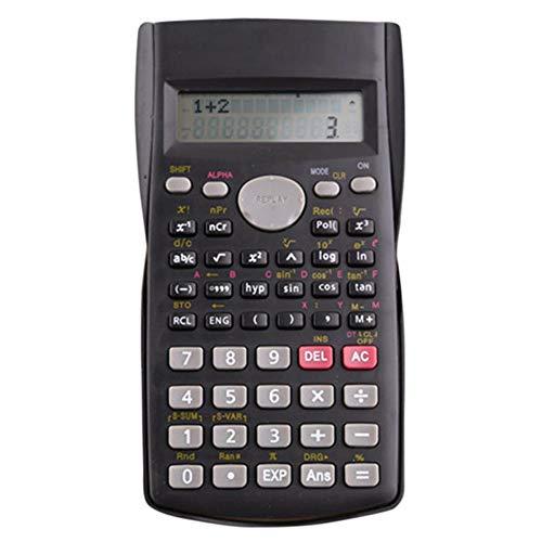 YUHUANG Calculatrice de Poche Portable Fonctions Standard Calculatrice de Bureau Papeterie Multifonction Ecole Ingénieur Calculatrice Scientifique Calculatrice Ingénierie