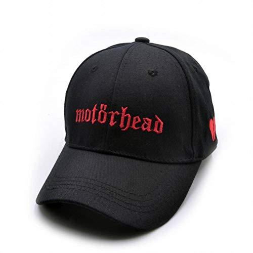 CWH-hat Música Sombrero Pareja Banda de Sombrero Al Aire Libre Gorra de Béisbol Banda de Rock Heavy Metal Británico