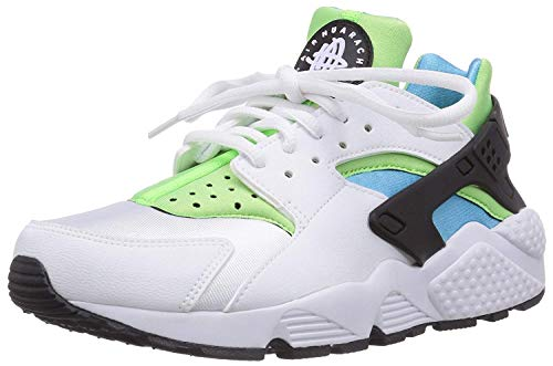 NIKE Women's WMNS Air Huarache Run, White/White, 7.5 UK