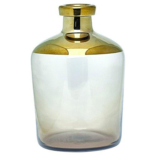 Greengate GLAVASMNOV6004 Nova Vase gold 18 cm
