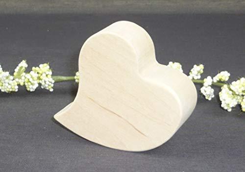 Corwood, Herz aus Holz, Deko Erle