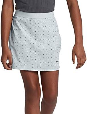 Nike Golf Kids Flex Print Skort (XL, Pure Platinum/Dark Grey/Black)