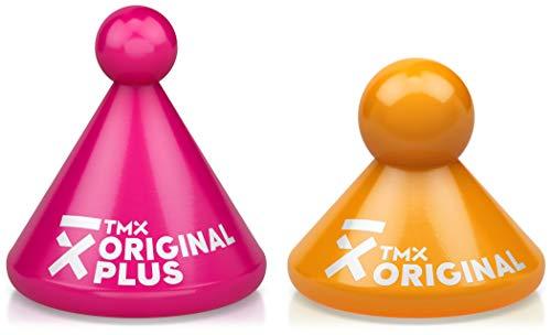 TMX Trigger Original Mixed Set, Original Plus & Original, Massagegeräte zur Triggerpunkt-Behandlung, punktuelle Akupressur, Muskelverhärtungen lösen, Faszien triggern, magenta & neonorange