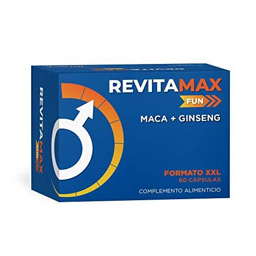 Revitamax Fun - Maca + Ginseng - 60 cápsulas