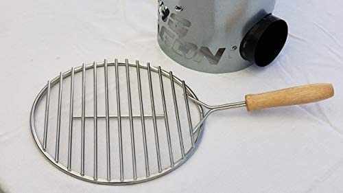 BBQ Dragon Cooking Grate for Charcoal Chimneys Sears Meat in Seconds for Sous Vide Flames are product image