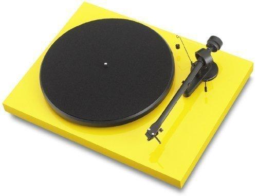 Pro-Ject Debut III - Tocadiscos manual (cápsula Ortofon OM 5E, brazo Pro-Ject...