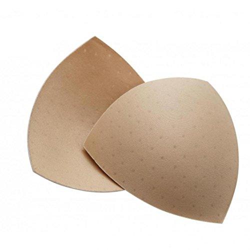 VOCHIC damen wiederverwendbare schaumstoff-bh-einsätze atmungsaktiv brusteinlagen ersetzen badeanzug t einheitsgröße nackt