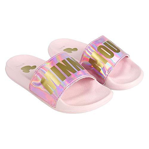 CERDÁ LIFE'S LITTLE MOMENTS Disney Minnie Mouse Sommer Sandalen Offiziell Lizenzierte Flip Flops Damen, Rosa, 38 EU