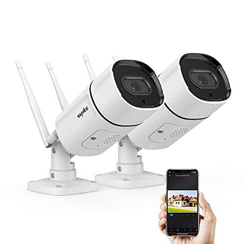2K/3MP Wireless IP Camera, SANNCE Super HD Outdoor Wireless Home Security...