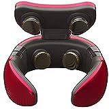 HE-XSHDTT Masseur de la Colonne cervicale, équipement de Protection des épaules et du Cou, Masseur d'impulsions, Quatre têtes épaules et Cou, Masseur de la Colonne cervicale