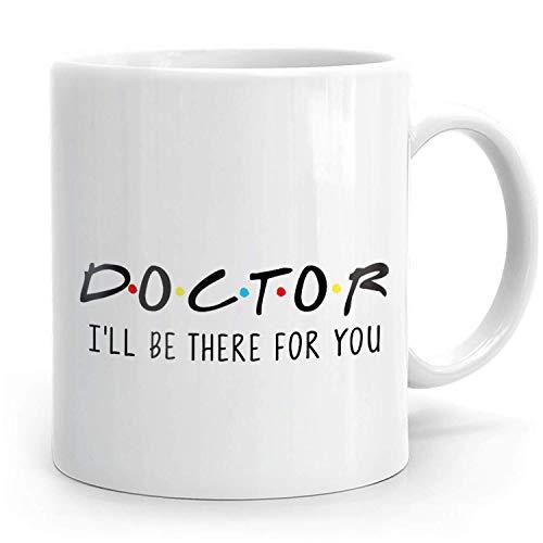 Porcelain Mug Doctor Doctor Gracias Agradecimiento Médico Mejor Doctor Doctor Doctor Doctor Er Doctor Mejor Doctor Jamás 330Ml Taza De Café Taza De Porcelana Leche Cerámica Oficin