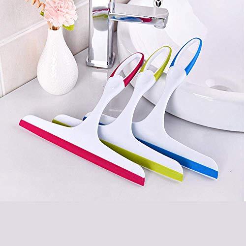 Schoonmaak spullen Window Glas Reinigingsborstel Wiper Airbrush schraper Multifunctionele Cleaner Thuis Wassen Cleaning Tools for Badkamer, Blue (Color : Blue)
