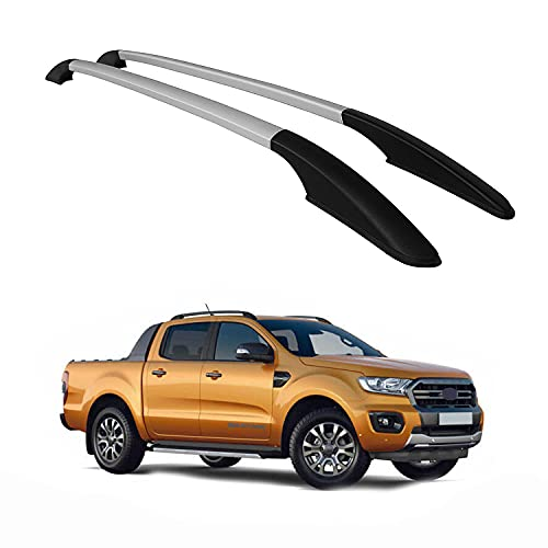 OMAC Car Accessories Roof Rack Side Rails Car Rooftop Compatible with Ford Ranger 2012-2021