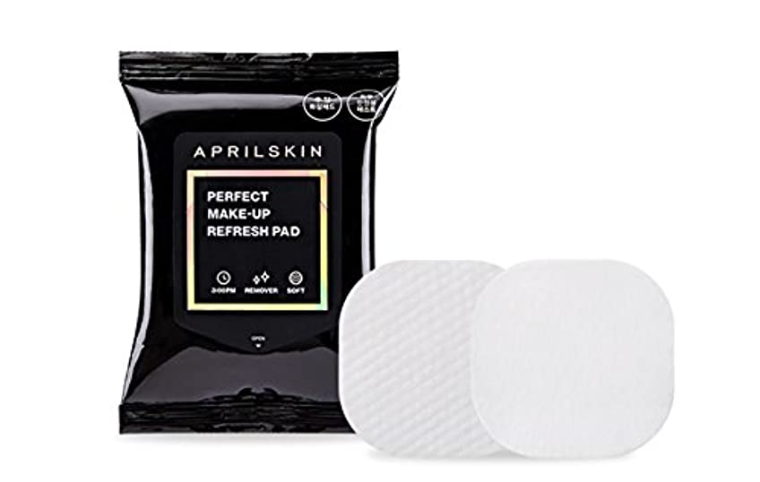 軽キャビン試験[APRILSKIN] エイプリルスキンパーフェクト修正化粧パッド 55g 30枚 / PERFECT MAKE-UP REFRESH PAD [並行輸入品]