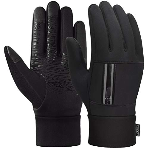 Touch Screen Gloves Anti-slip Palm Running Cycling Sports Gloves Winter Gloves for Men Women