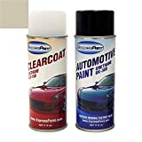 ExpressPaint Aerosol - Automotive Touch-up Paint for Ford Expedition - Pueblo Gold Metallic Clearcoat G3/M7113 - Color + Clearcoat Package