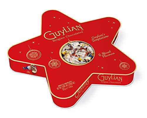 Guylian Temptations Belgische Pralinen Mix Weihnachtsstern 135g
