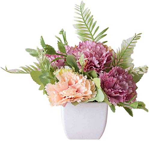 Sztuczne kwiaty, sztuczne kwiaty prawdziwie wyglądające realistyczne aranżacje kwiatowe, sztuczny kwiat liliowy kawiarnia ogród impreza ślub zdjęcie rekwizyt dom bonsai dekoracja sztuczne bonsai dekoracja domu