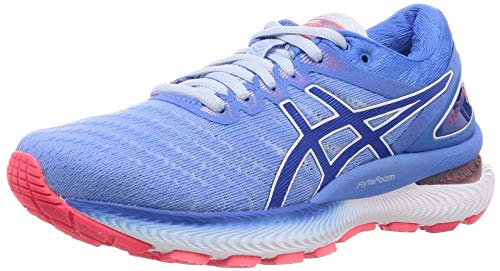 Asics Gel-nimbus 22, Women's Running Shoes, Soft Sky / Tuna Blue, 4 UK (37 EU)