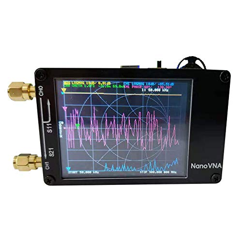 vap26 Vector Netwerk Analyzer 50KHz - 900MHz V3.4 VHF MF Antenne Netwerk Analyzer Digitaal Display