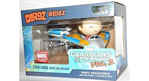 Funko-collector corps Marvel Dorbz Ridez Guardian of The Galaxy Vol. 2 Star-Lord with The Milano