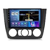 ADMLZQQ Android Coche Stereo para BMW 1 Series E81 E82 E87 E88 2008-2012 Pantalla TáCtil Player Player Radio NavegacióN GPS con Carplay/Dsp * 2 / Bluetooth/FM Am/RDS/USB,A,M100S4core1+16