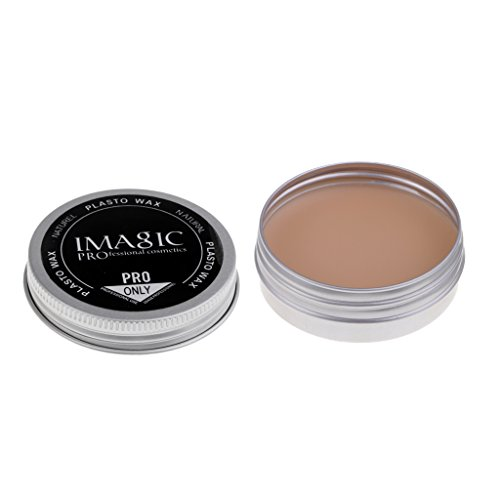 Sharplace Cire à modeler maquillage pour fete 20g - # 3, 2,24 x 0,87 pouces