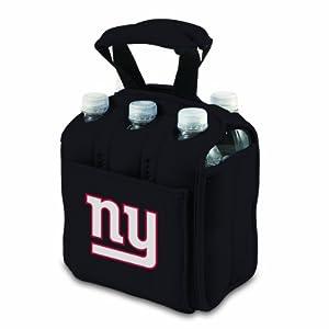 NFL New York Giants Six Pack Cooler Tote, Black