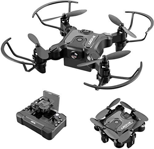 Bck Quadcopter plegable Auto Hover Control remoto Drone de 8 millones de píxeles Lente Transmisión en tiempo real Tres juguetes de control remoto 3D Flip One Tecla Devolución de la cámara HD Cámara de