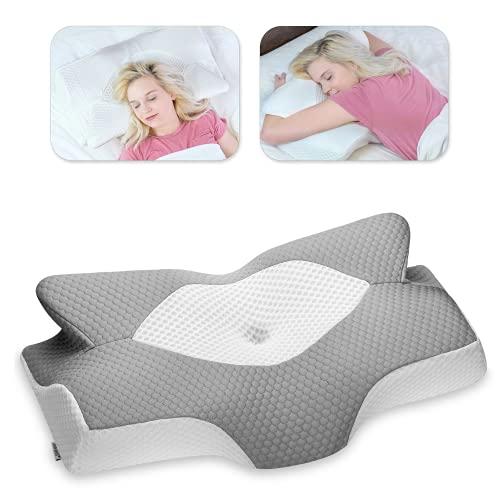 Elviros Almohada de Espuma con Memoria de Contorno Cervical