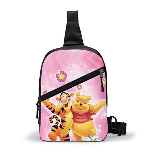 Hdadwy Winnie The Pooh Bear Tigger Sling Bags Crossbody Homb