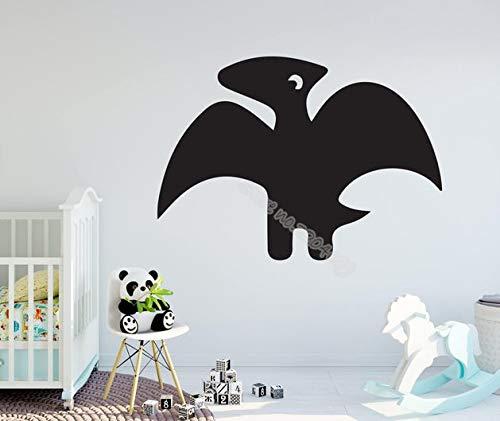 mlpnko Cartoon Dinosaurier Wandaufkleber lustige Dinosaurier Aufkleber Kinder Schlafzimmer Kindergarten Dekoration Vinyl Kinder Baby 42x30cm