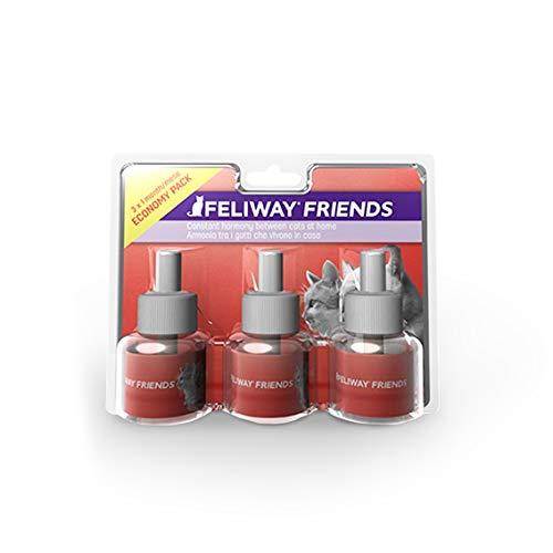 FELIWAY Friends 30 Day Refill (Value 3 pack), helps to reduce conflict in...
