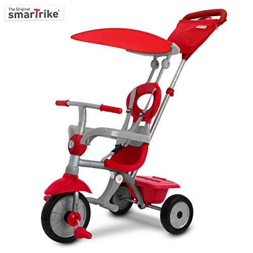 smarTrike 618 Zip Plus Heavy Duty 3 in 1 (Touch Steering Trike as a Solid Metal Construction