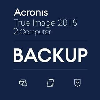 Acronis True Image 2018 - 2 Computers(ダウンロード版)|オンラインコード版