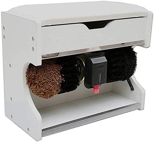 HGFHG Máquina Automática De Limpieza De Zapatos Pulidora De Zapatos Eléctrica 60W, Cepillo De Inducción Automático, Banco De Zapatos para Uso Doméstico O Público (Color : D)
