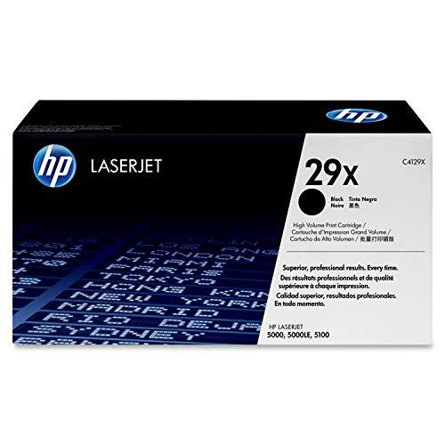Original HP C4129X / 29X Toner Black für HP LaserJet 5000-100