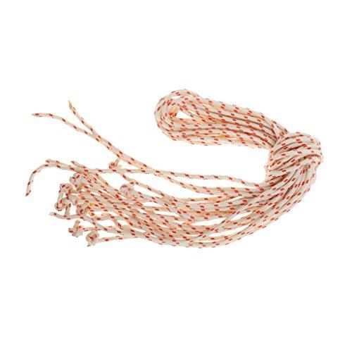 10pcs Reißleine Flechtschnur Seilzug Starterseil für Rasenmäher und Schneefräse, 3,0 mm Durchmesser