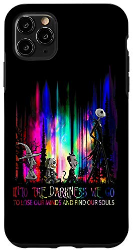 iPhone 11 Pro Max Into the Darkness We Go - Christmas Nightmare Before Jack Case