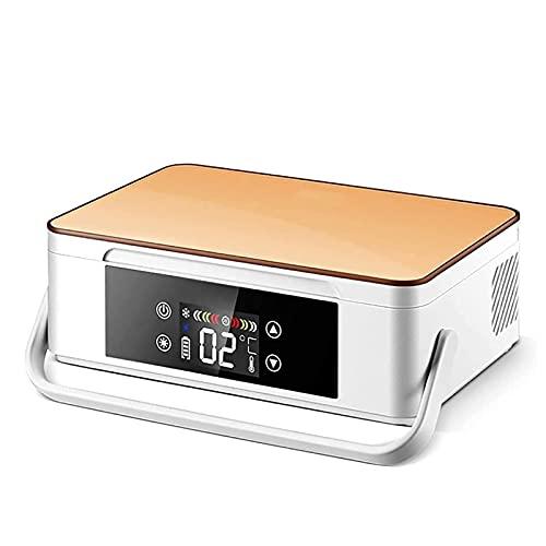 XJZHANG Enfriador De Insulina, Refrigerador Portátil para Medicamentos con Carga USB, Mini Caja Refrigerada para Medicamentos con Pantalla LED para Viajes En Automóvil, Refrigerador para El Hogar