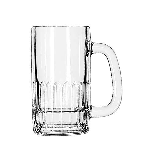 """Libbey model 5309, 12 oz. Beer Mug, 5 5/8"""" tall"""
