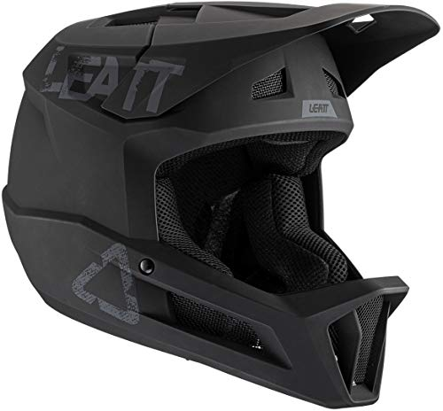 Leatt Casque MTB 1.0 DH Casco de Bici, Unisex Adulto, Negro, Medium