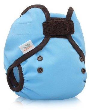 Bum Wrap Couvre-couche lavable bleu